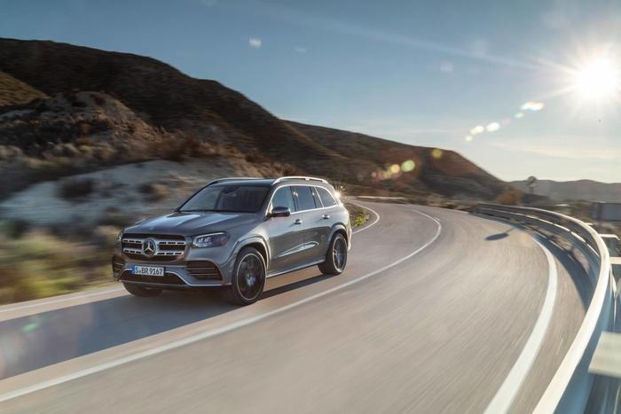 Mercedes-Benz GLS 2020 - đối thủ của BMW X7 'chốt' giá bán từ 2,2 tỷ đồng Ảnh 7