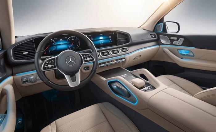 Mercedes-Benz GLS 2020 - đối thủ của BMW X7 'chốt' giá bán từ 2,2 tỷ đồng Ảnh 5