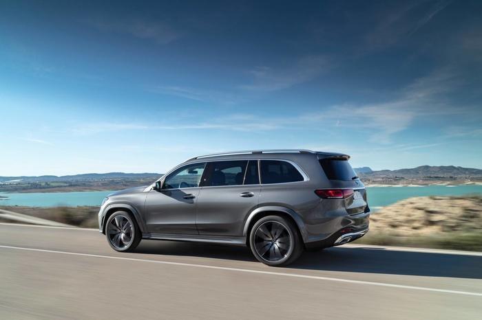 Mercedes-Benz GLS 2020 - đối thủ của BMW X7 'chốt' giá bán từ 2,2 tỷ đồng Ảnh 4
