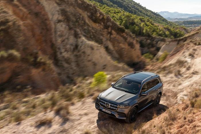 Mercedes-Benz GLS 2020 - đối thủ của BMW X7 'chốt' giá bán từ 2,2 tỷ đồng Ảnh 8