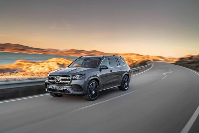 Mercedes-Benz GLS 2020 - đối thủ của BMW X7 'chốt' giá bán từ 2,2 tỷ đồng Ảnh 3