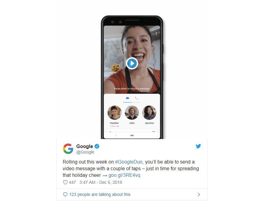 Google nâng cấp tính năng Google Duo, giảm tỉ lệ gián đoạn gọi nhóm Ảnh 2