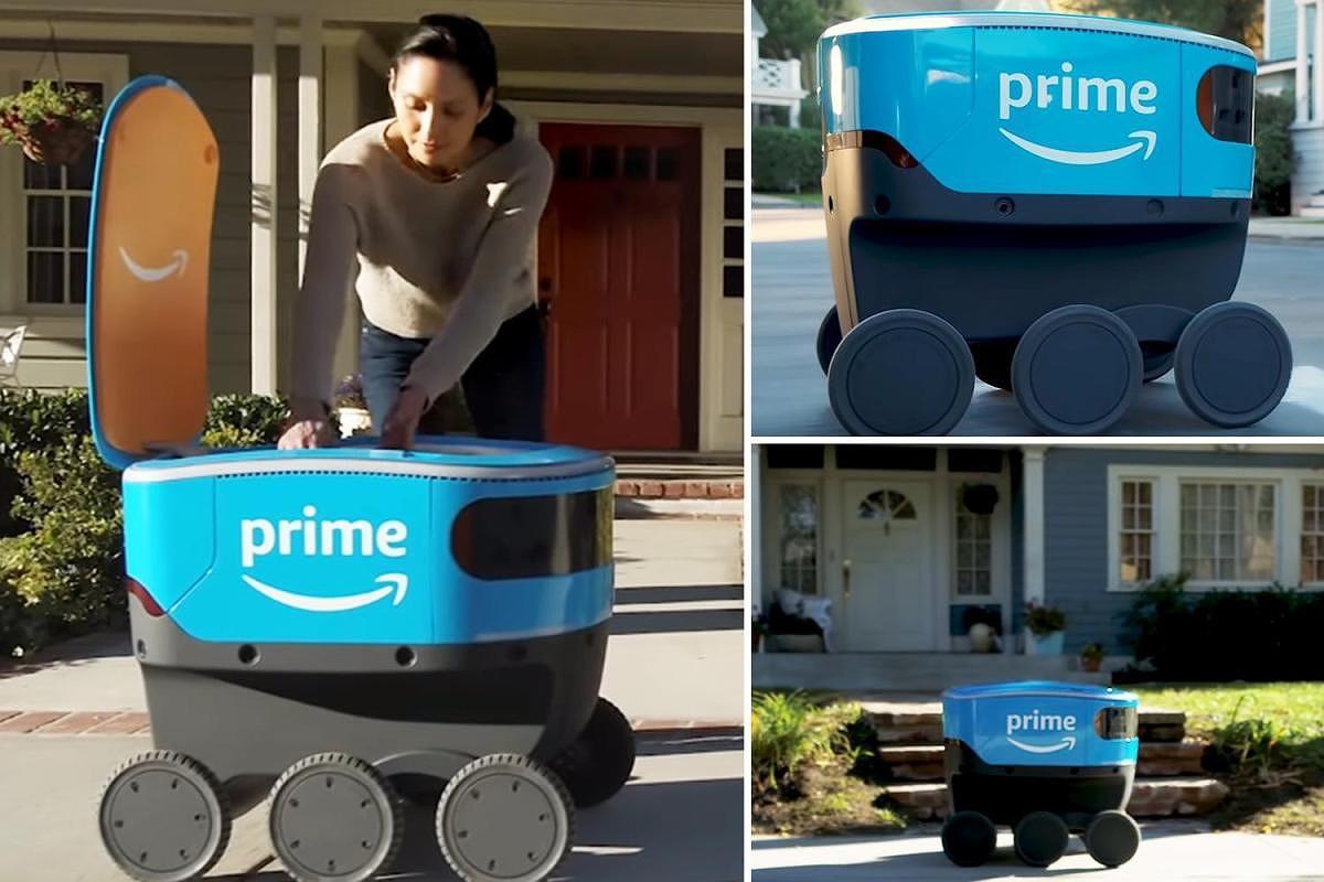 Đội ngũ robot mới của Amazon có thể sẽ cướp hết việc làm của người giao hàng? Ảnh 1