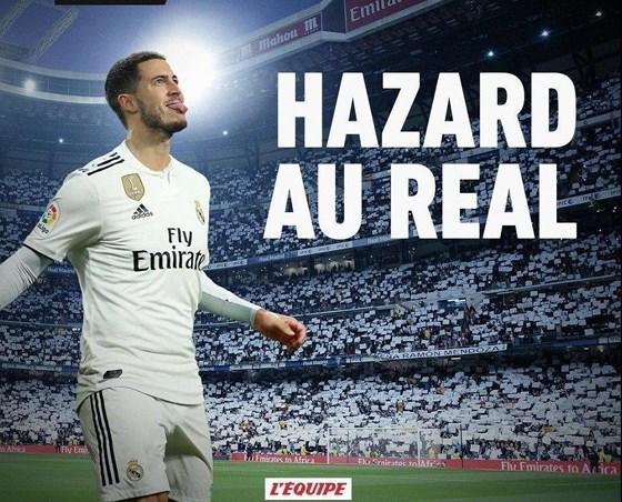 Sốc: L'Équipe khẳng định Hazard sang Real Madrid với 112 triệu Euro Ảnh 1