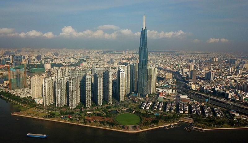 Ngắm toàn cảnh Sài Gòn từ nóc tòa nhà cao nhất Việt Nam Ảnh 2