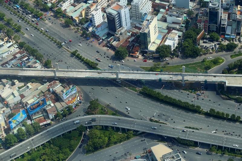 Ngắm toàn cảnh Sài Gòn từ nóc tòa nhà cao nhất Việt Nam Ảnh 9
