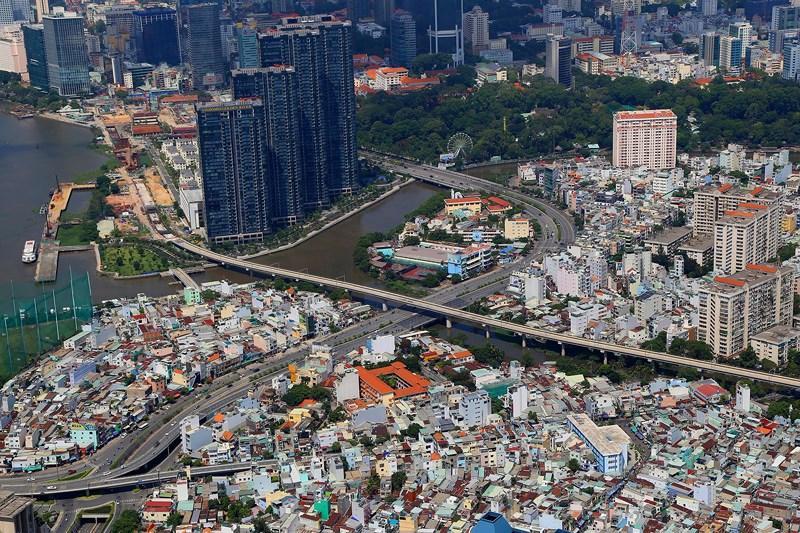 Ngắm toàn cảnh Sài Gòn từ nóc tòa nhà cao nhất Việt Nam Ảnh 6