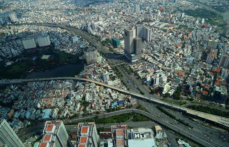 Ngắm toàn cảnh Sài Gòn từ nóc tòa nhà cao nhất Việt Nam Ảnh 8