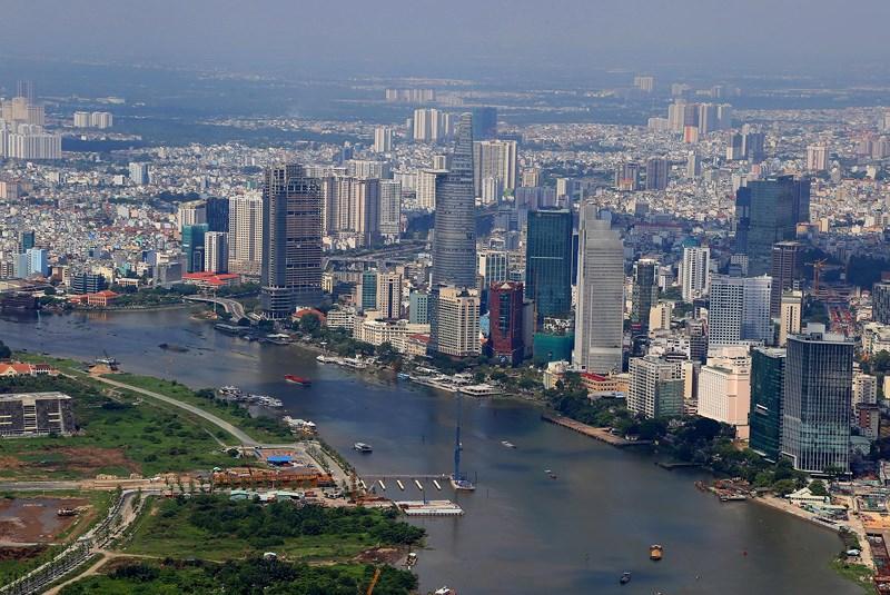 Ngắm toàn cảnh Sài Gòn từ nóc tòa nhà cao nhất Việt Nam Ảnh 5