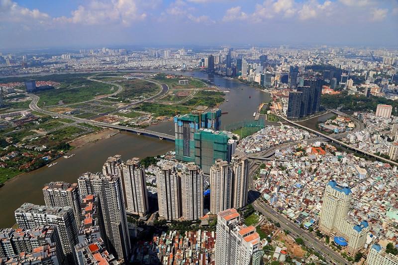 Ngắm toàn cảnh Sài Gòn từ nóc tòa nhà cao nhất Việt Nam Ảnh 4