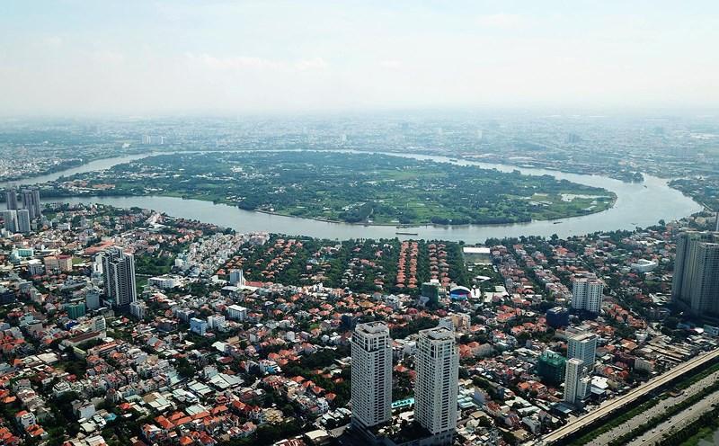 Ngắm toàn cảnh Sài Gòn từ nóc tòa nhà cao nhất Việt Nam Ảnh 17