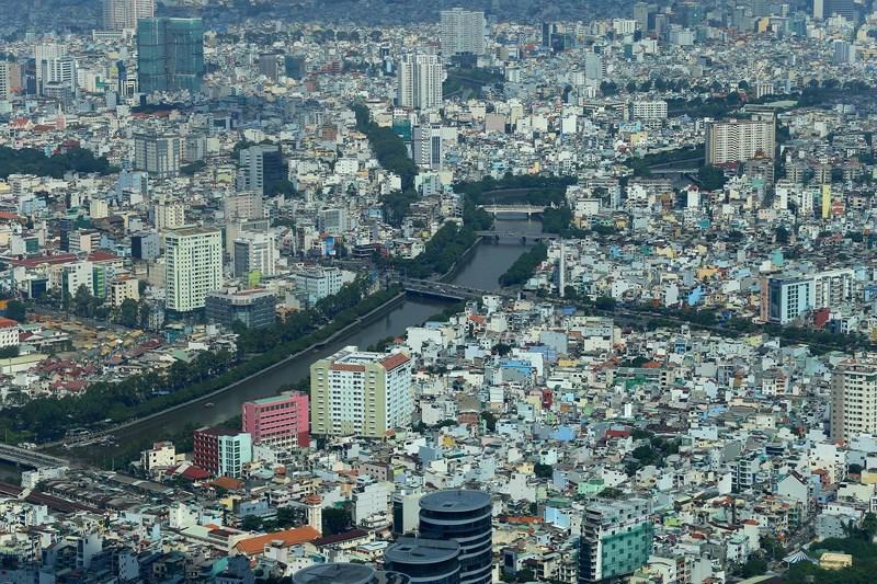 Ngắm toàn cảnh Sài Gòn từ nóc tòa nhà cao nhất Việt Nam Ảnh 13