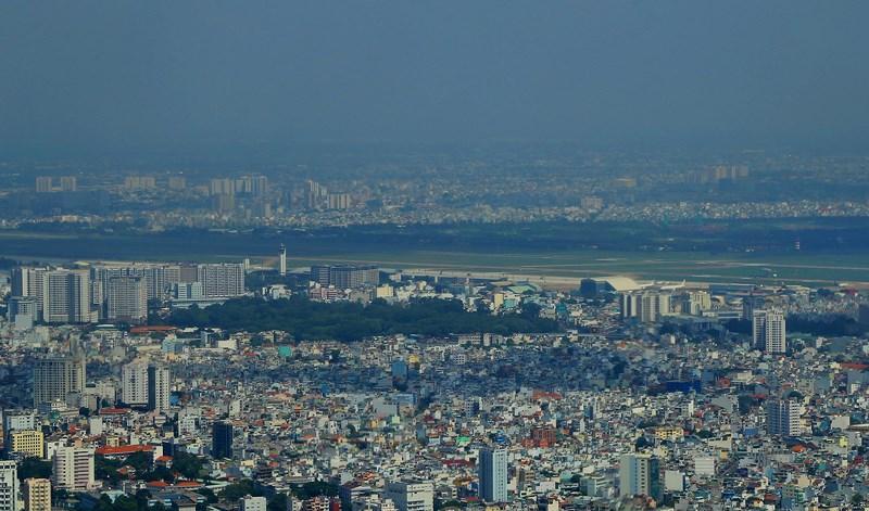 Ngắm toàn cảnh Sài Gòn từ nóc tòa nhà cao nhất Việt Nam Ảnh 16