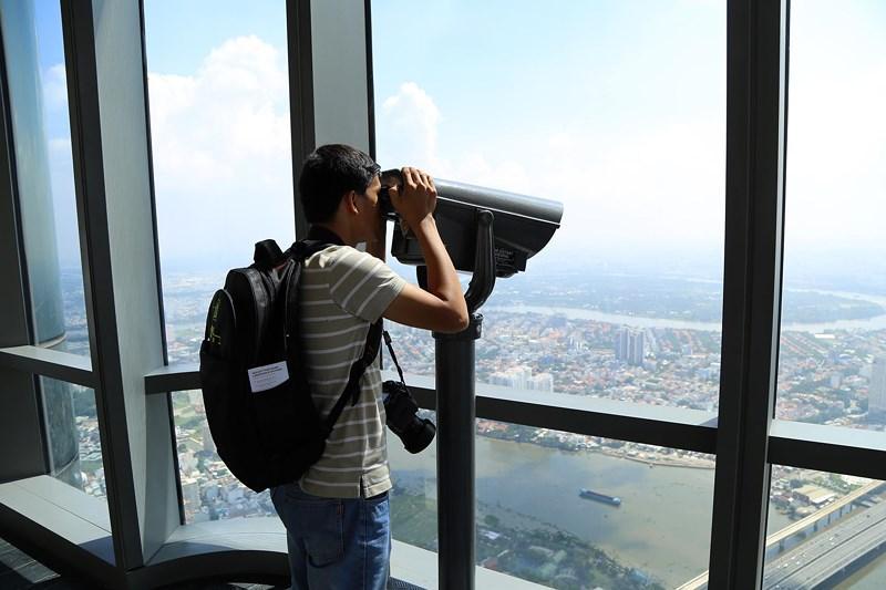Ngắm toàn cảnh Sài Gòn từ nóc tòa nhà cao nhất Việt Nam Ảnh 3