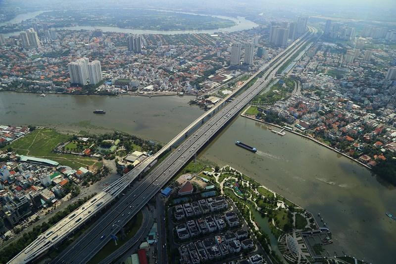 Ngắm toàn cảnh Sài Gòn từ nóc tòa nhà cao nhất Việt Nam Ảnh 14