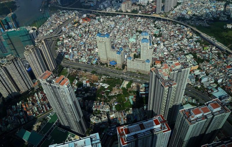 Ngắm toàn cảnh Sài Gòn từ nóc tòa nhà cao nhất Việt Nam Ảnh 7