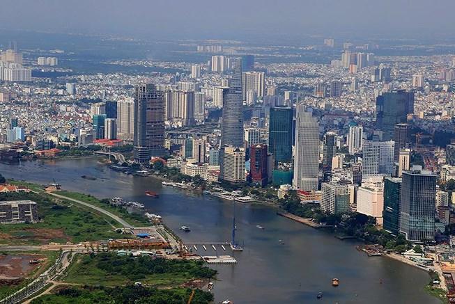 Ngắm toàn cảnh Sài Gòn từ nóc tòa nhà cao nhất Việt Nam Ảnh 1