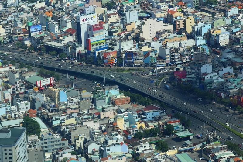 Ngắm toàn cảnh Sài Gòn từ nóc tòa nhà cao nhất Việt Nam Ảnh 10