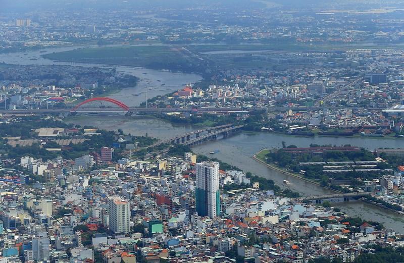 Ngắm toàn cảnh Sài Gòn từ nóc tòa nhà cao nhất Việt Nam Ảnh 15