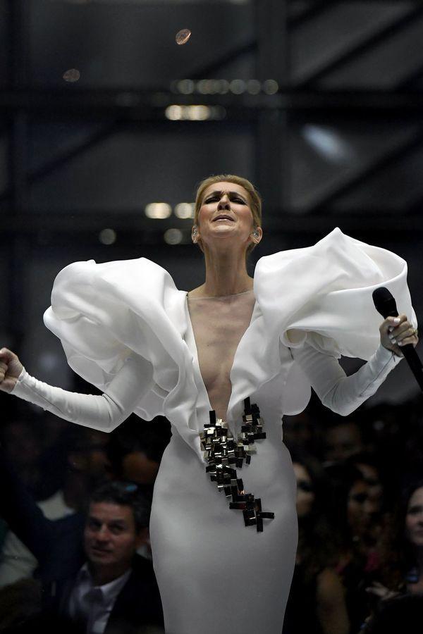Dù là ngưỡng mộ hay tranh cãi, không ai có thể phủ nhận phong cách thời trang độc nhất của Celine Dion Ảnh 12