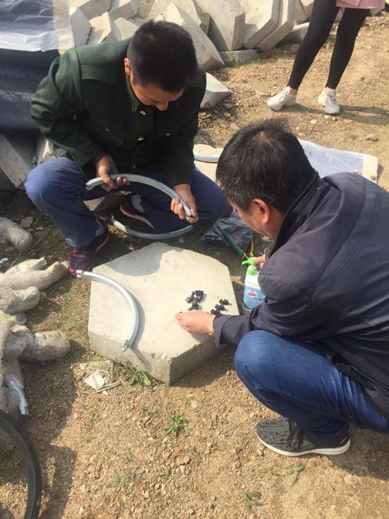 XINXING: Thành công dự án lắp đặt ống gang cầu chìm qua sông Ảnh 2