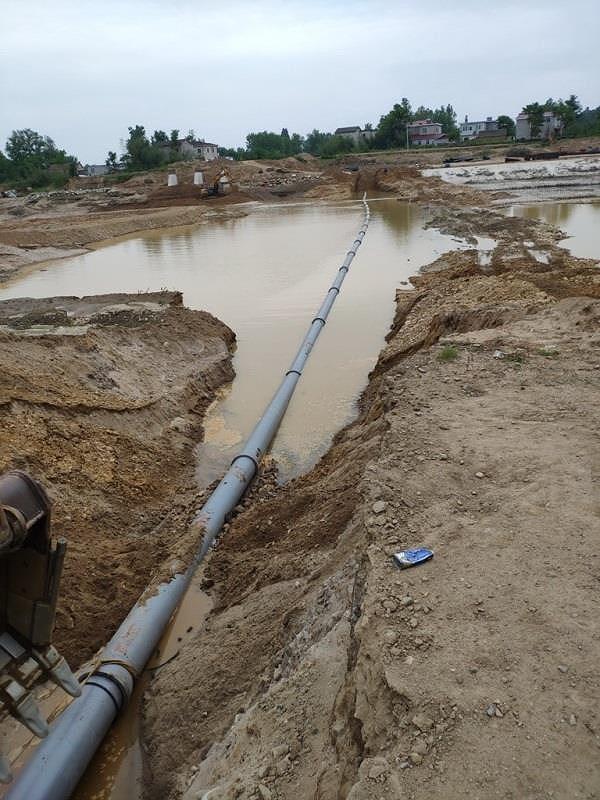 XINXING: Thành công dự án lắp đặt ống gang cầu chìm qua sông Ảnh 1