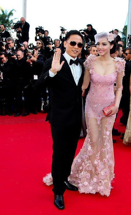 Những sao Việt nào từng khoe dáng gợi cảm ở LHP Cannes? Ảnh 19
