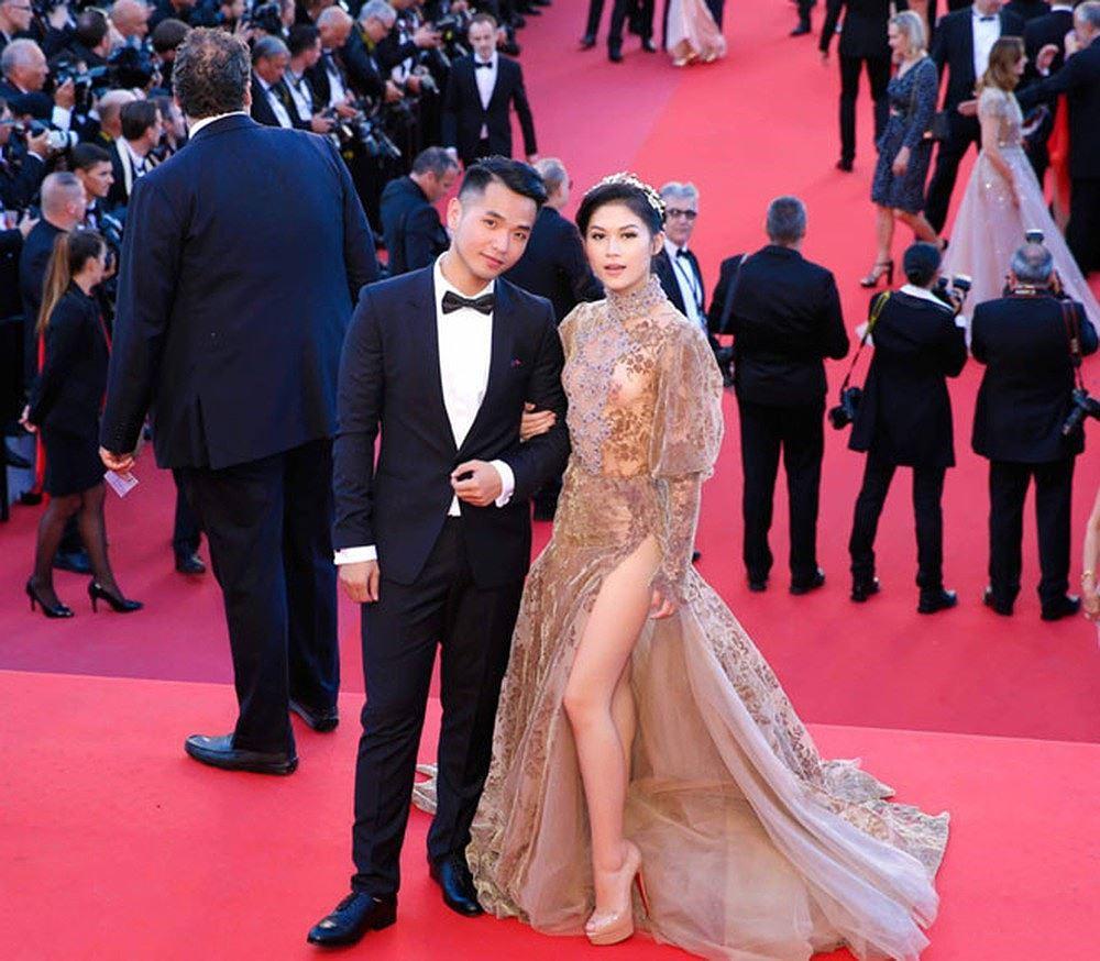 Những sao Việt nào từng khoe dáng gợi cảm ở LHP Cannes? Ảnh 18