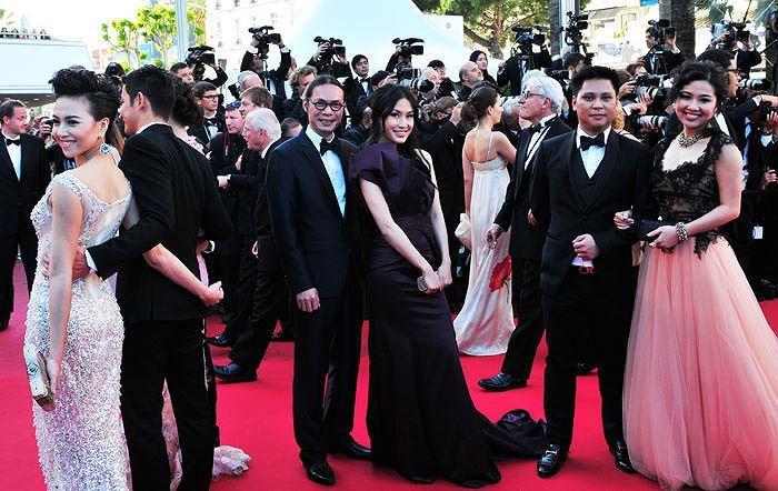 Những sao Việt nào từng khoe dáng gợi cảm ở LHP Cannes? Ảnh 23
