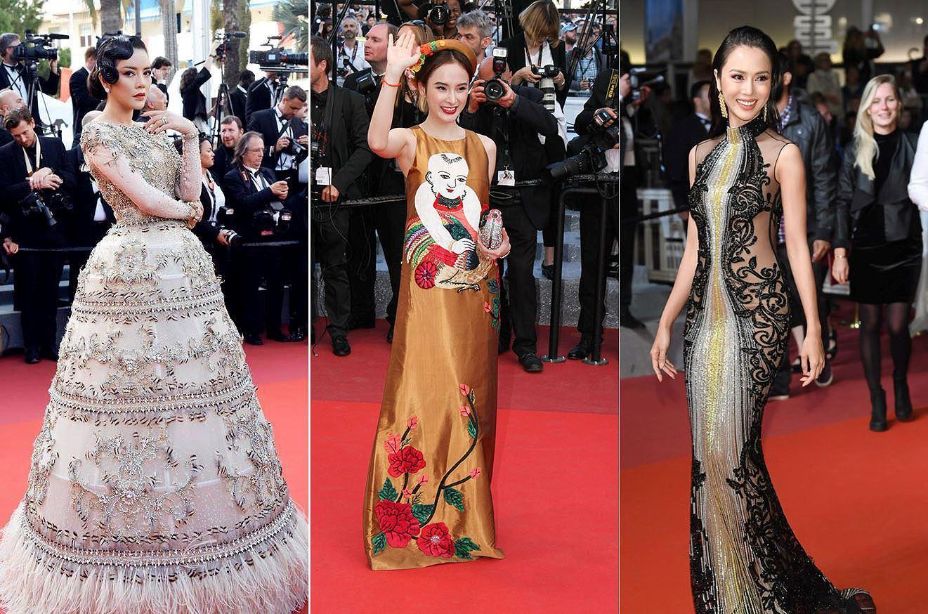 Những sao Việt nào từng khoe dáng gợi cảm ở LHP Cannes? Ảnh 1