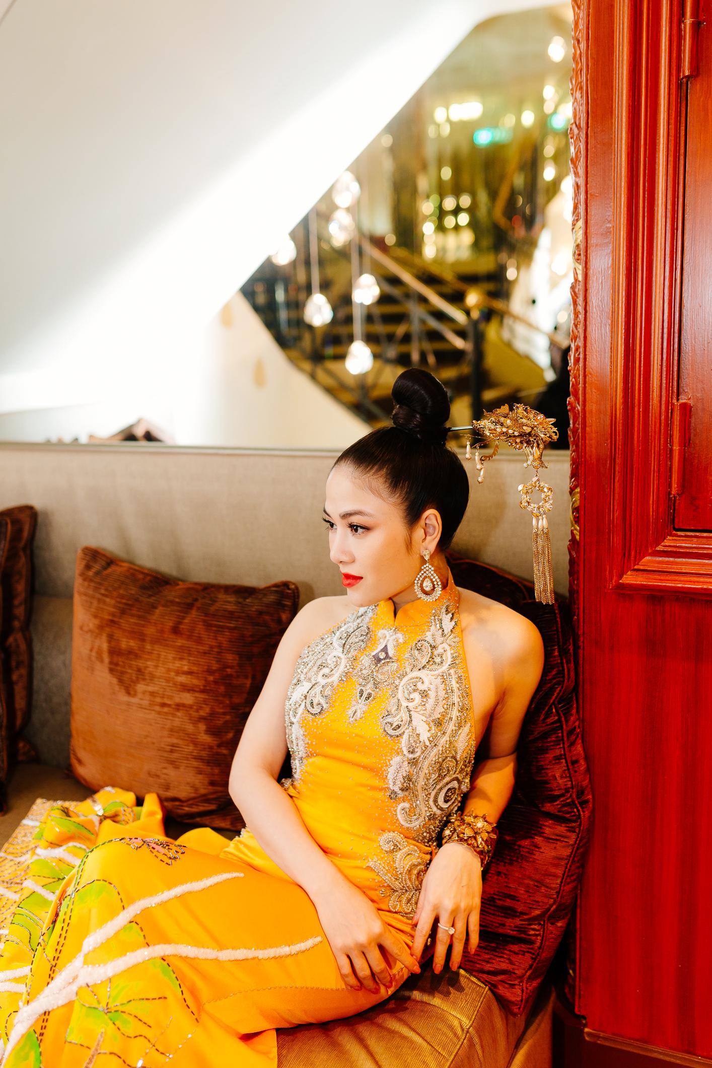 Sau Ngọc Trinh, thêm một người đẹp Việt 'náo loạn' thảm đỏ Cannes 2019 Ảnh 9