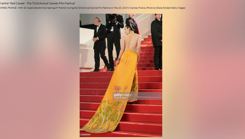 Sau Ngọc Trinh, thêm một người đẹp Việt 'náo loạn' thảm đỏ Cannes 2019 Ảnh 8