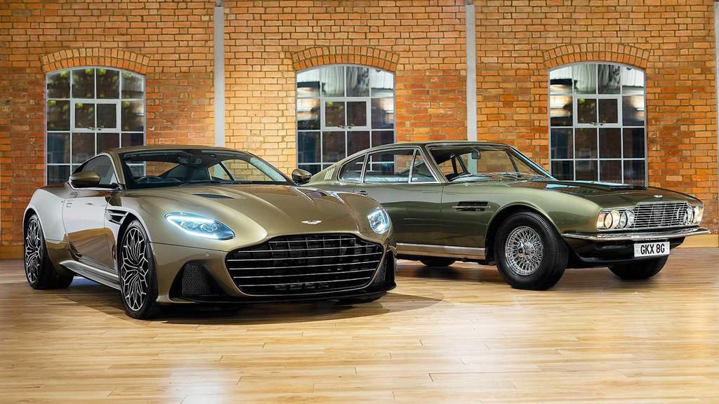 Aston Martin DB5 Superleggera phiên bản James Bond Ảnh 1