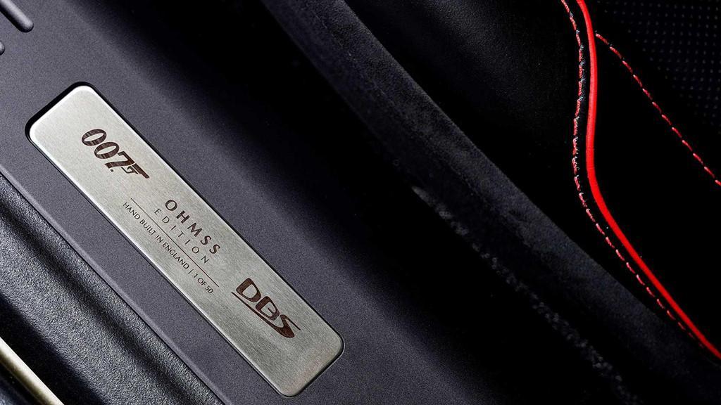 Aston Martin DB5 Superleggera phiên bản James Bond Ảnh 5