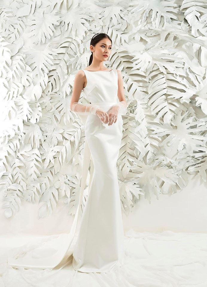Sau khi công khai bạn trai, Á hậu Thùy Dung gợi cảm với váy cưới xuyên thấu Ảnh 9