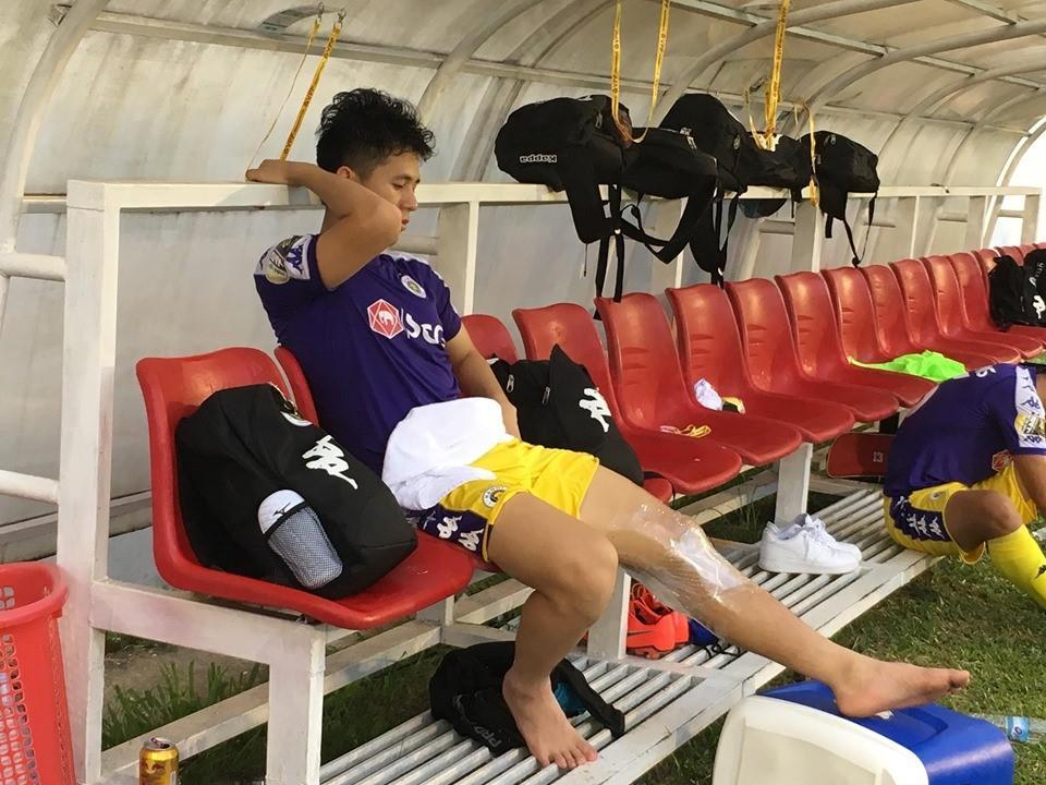 Đình Trọng chấn thương nặng trước ngày Việt Nam hội quân tham dự King's Cup Ảnh 1
