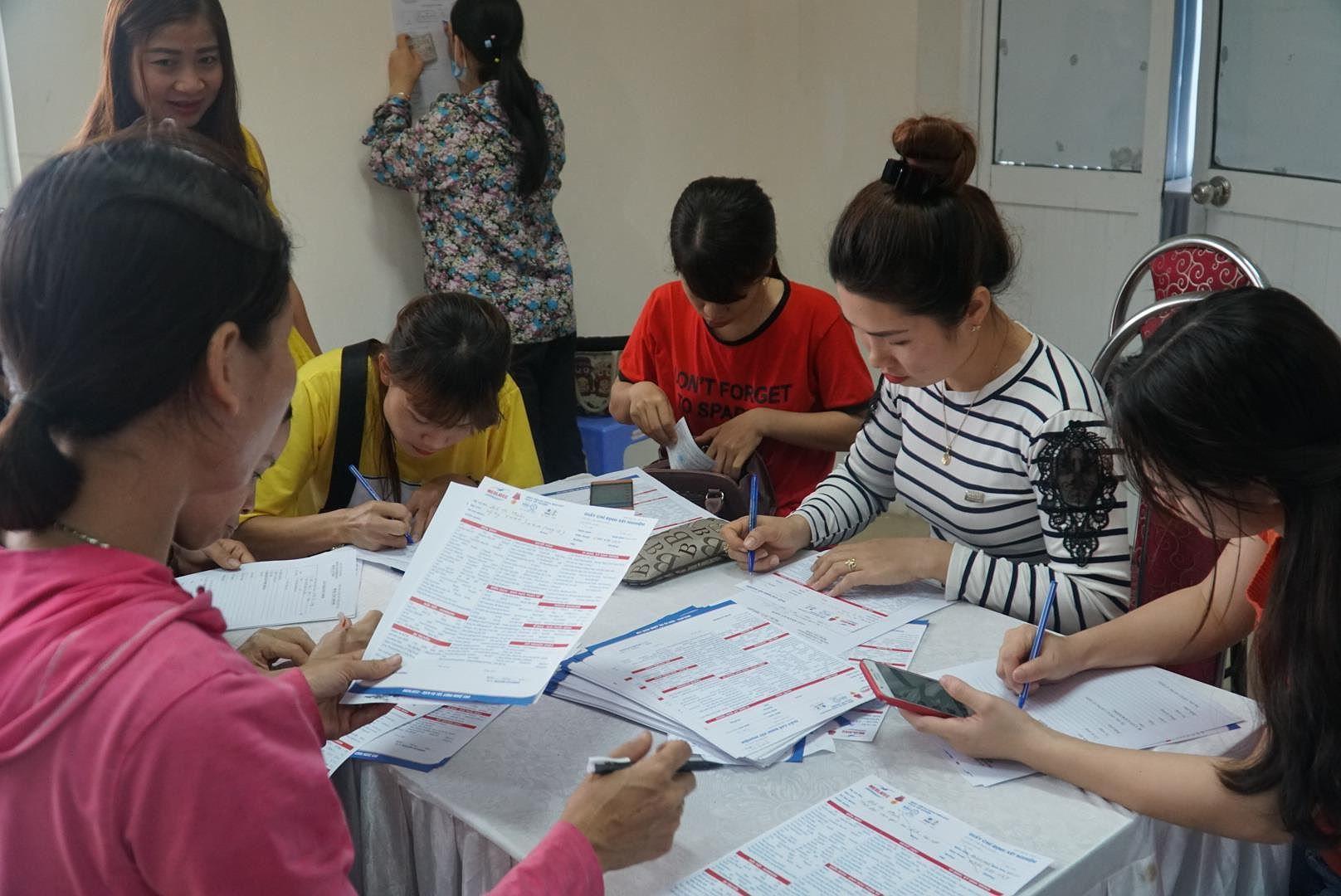 Nữ lao động tại Vĩnh Phúc được khám sức khỏe sinh sản miễn phí Ảnh 2