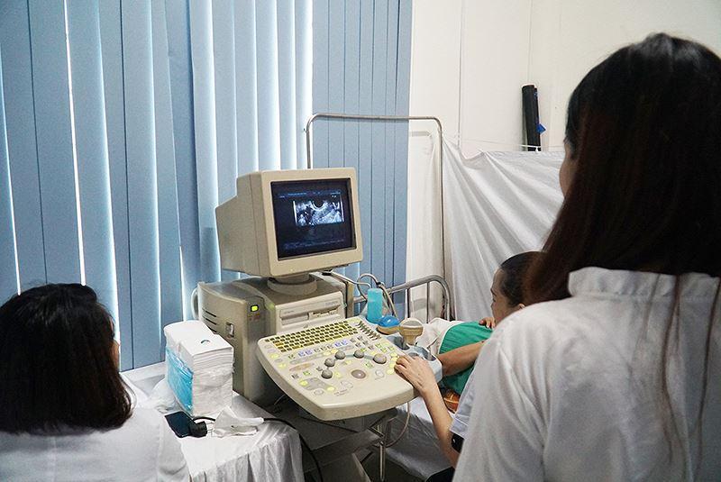 Nữ lao động tại Vĩnh Phúc được khám sức khỏe sinh sản miễn phí Ảnh 3