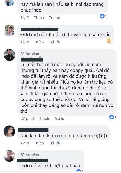 Vừa lên sóng, trang phục dân tộc dành cho Hoàng Thùy bị fan Việt và Indonesia tố đạo nhái ý tưởng Ảnh 8