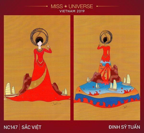 Vừa lên sóng, trang phục dân tộc dành cho Hoàng Thùy bị fan Việt và Indonesia tố đạo nhái ý tưởng Ảnh 1