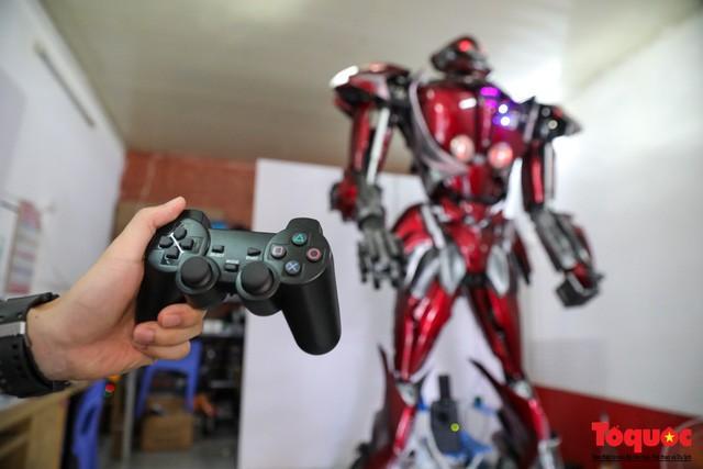 Chiêm ngưỡng Robot 'Siêu to, khổng lồ' được chế tạo từ rác thải nhựa Ảnh 8