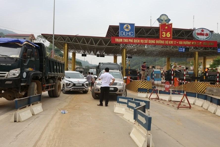 Bộ GTVT đề nghị bảo đảm an ninh tại trạm thu phí Hòa Lạc – Hòa Bình Ảnh 1