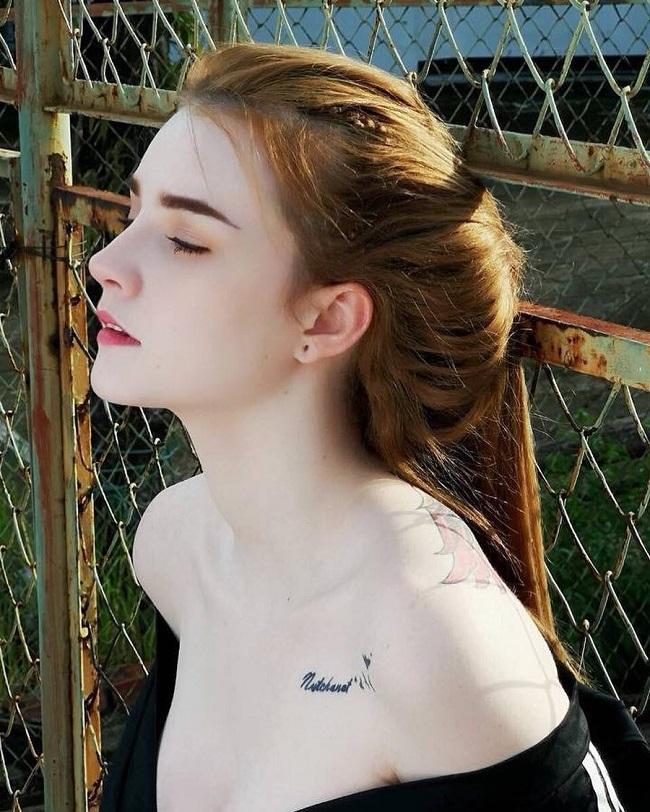 2 'thánh nữ xăm mình' Thái Lan, Brazil: Da trắng như bông bưởi vẫn để 'dính mực' Ảnh 10
