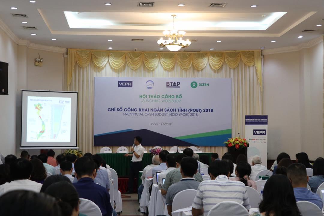 Chỉ số công khai Ngân sách tỉnh (POBI) 2018: Vĩnh Long đứng đầu, Hải Phòng về cuối Ảnh 1