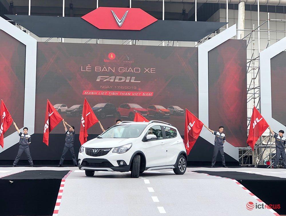 650 xe VinFast Fadil đầu tiên chính thức đến tay khách hàng Việt Nam Ảnh 3