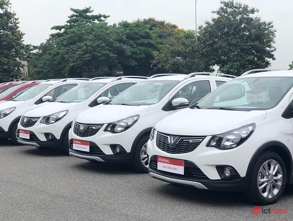 650 xe VinFast Fadil đầu tiên chính thức đến tay khách hàng Việt Nam Ảnh 1
