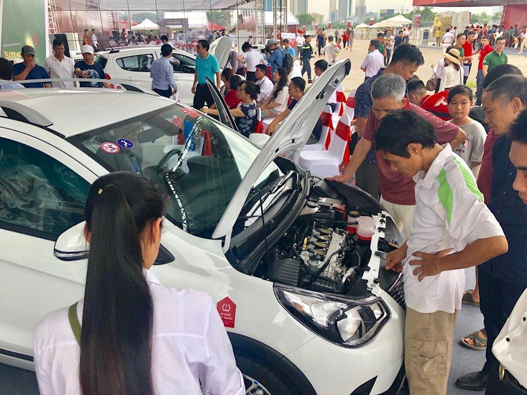 650 xe VinFast Fadil đầu tiên chính thức đến tay khách hàng Việt Nam Ảnh 6
