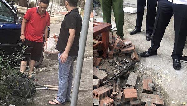 Truy bắt 2 nhóm vác dao, súng 'thanh toán' nhau trên phố giữa ban ngày Ảnh 1