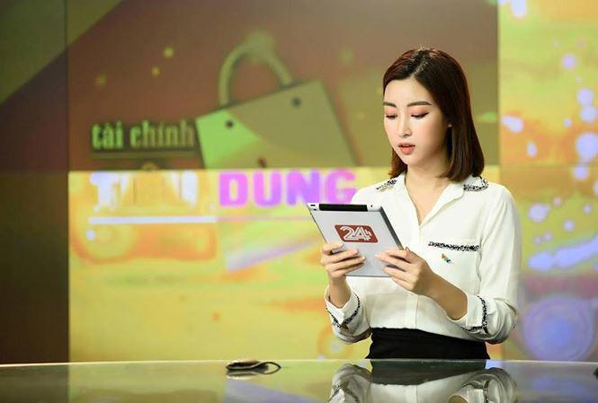 Đỗ Mỹ Linh bị nhà đài nhắc nhở vì trang phục 'hoành tráng' khi dẫn sóng VTV Ảnh 1