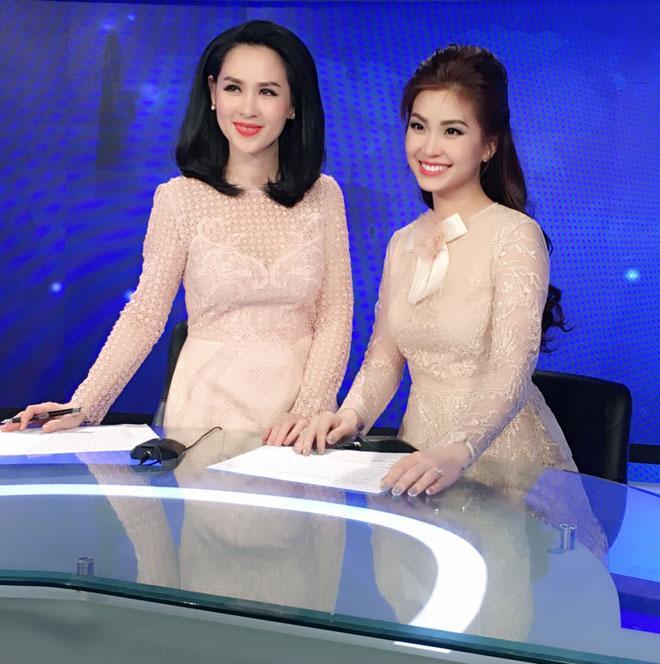 Đỗ Mỹ Linh bị nhà đài nhắc nhở vì trang phục 'hoành tráng' khi dẫn sóng VTV Ảnh 5